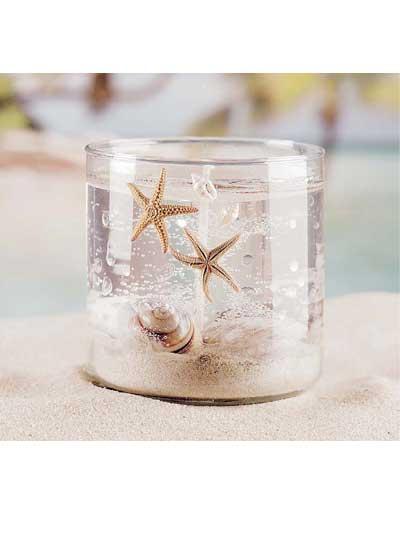 Seashell Gel Candle photo