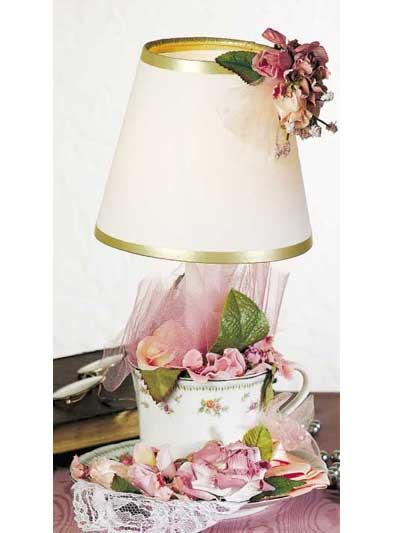 Romantic Teacup Lamp photo
