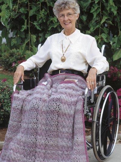 Wheelchair Throw photo