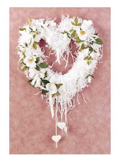 Fantasy Heart Wreath photo