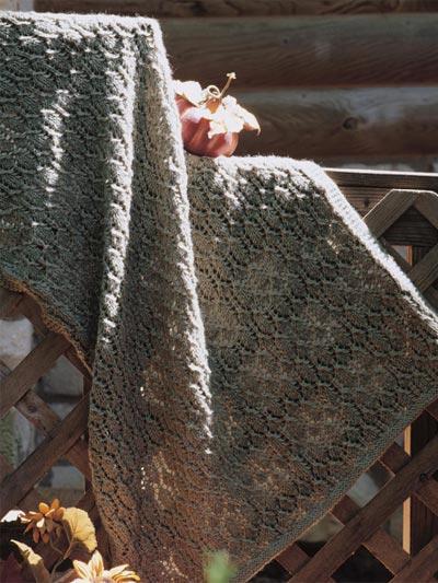 Autumn Lace Lap Warmer photo