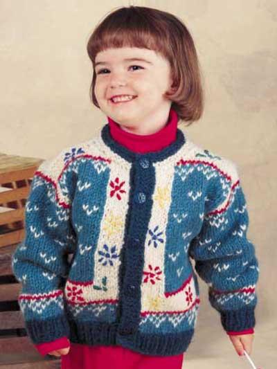Child's Lopi Cardigan photo