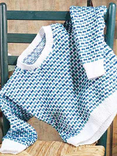 Striped Bricks Pullover photo