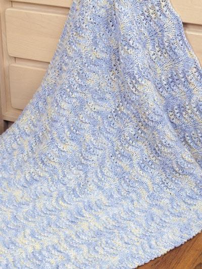 Easy Shells Baby Blanket photo