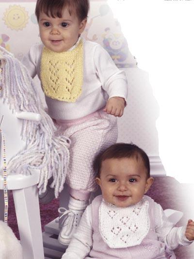 Lacy Baby Bibs photo