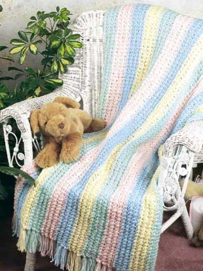 Rainbow Crib Cover photo