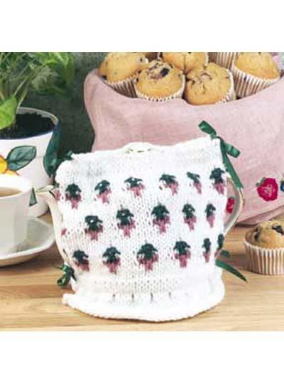 English Rose Tea Cozy photo