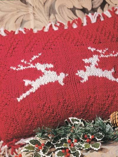 Dashing Reindeer Pillow photo
