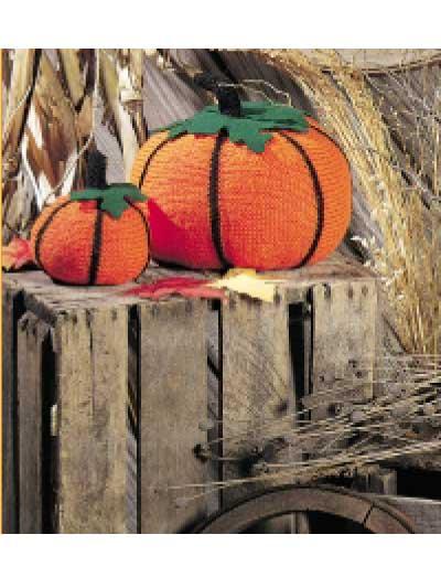 Festive Knitted Pumpkin Fun photo