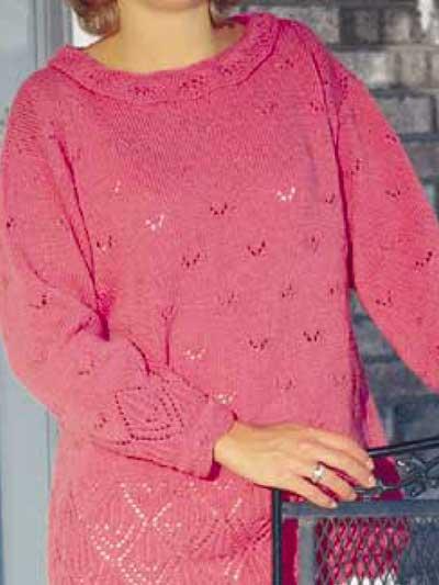 Lace-Bordered Tunic photo