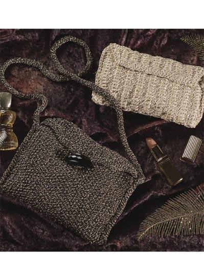 Glitzy Clutch & Shoulder Bag photo