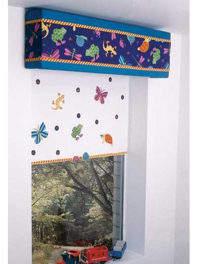 Leapin' Lizards Window Cornice photo