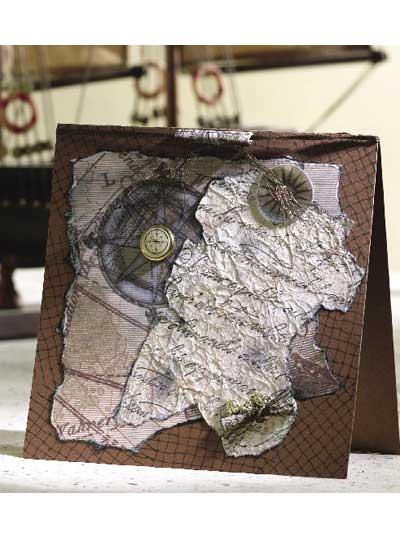 Lost Treasure Card photo
