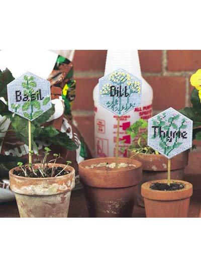 Herb Plant Pokes photo