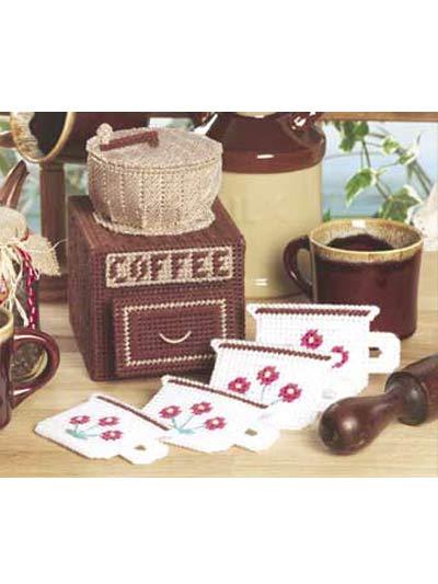 Coffee Mill Coaster Set photo