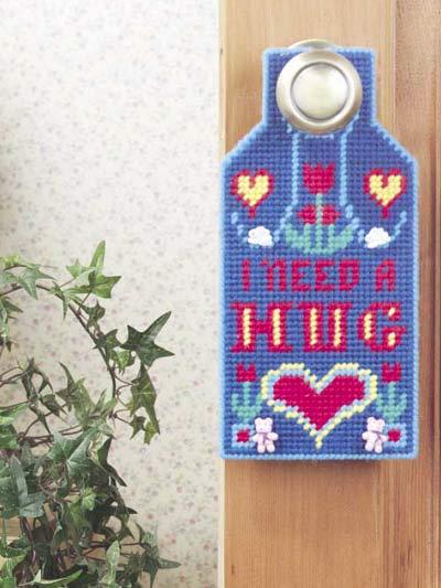 Happy Hugs Door Hanger photo