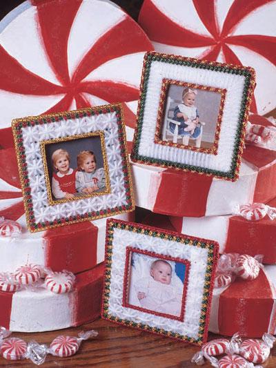 Candy Cane Frames photo