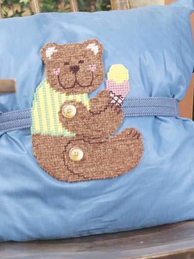 Teddy Bear Pillow Wrap photo