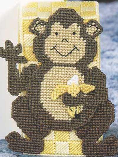 Baby Monkey Doorstop photo
