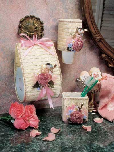 Floral Bath Set photo