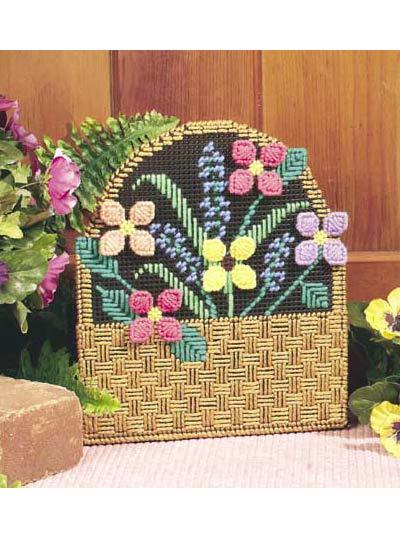 Flower Basket Doorstop photo