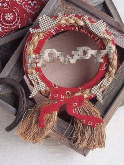Howdy Wreath photo