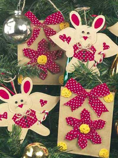 Brown Bag Ornaments photo