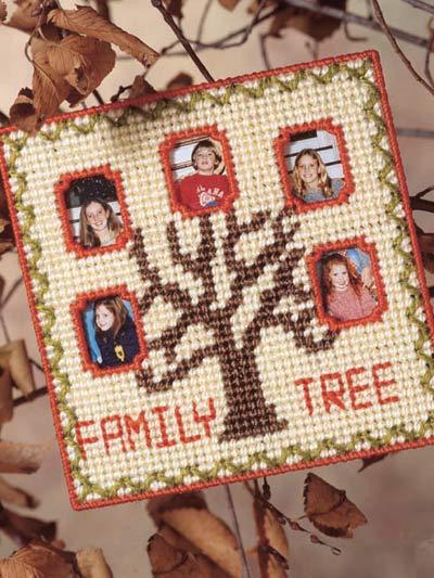 Family Tree Frame photo