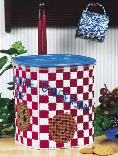 Checkered Cookie Jar photo