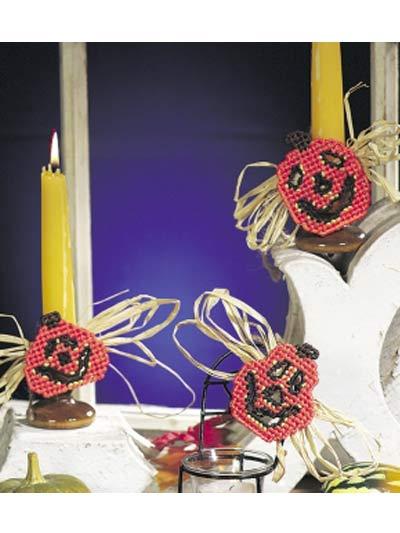 Pumpkin Candle Ties photo