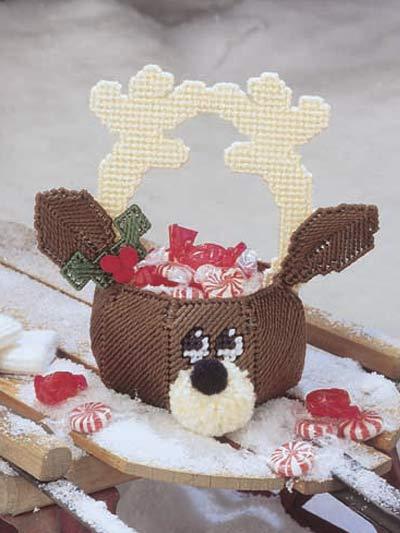 Reindeer Candy Dish photo