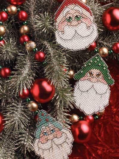 Santa Ornaments photo