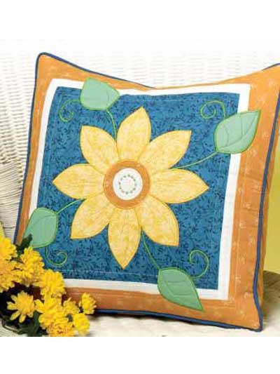 Giant Daisy Pillow photo