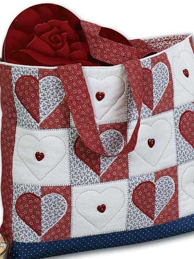 Heart Tote Bag photo