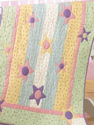 Baby's Stars Quilt photo
