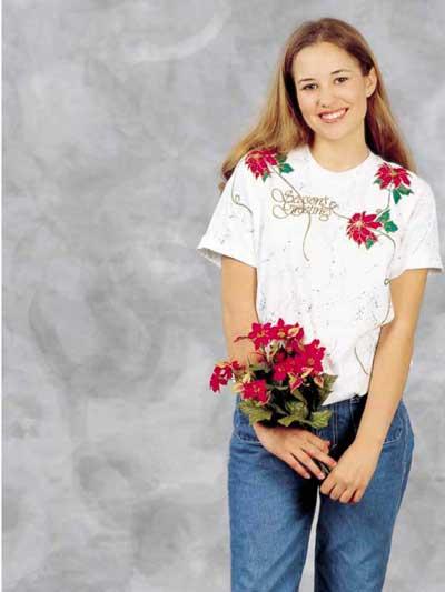 Dazzling Poinsettias photo