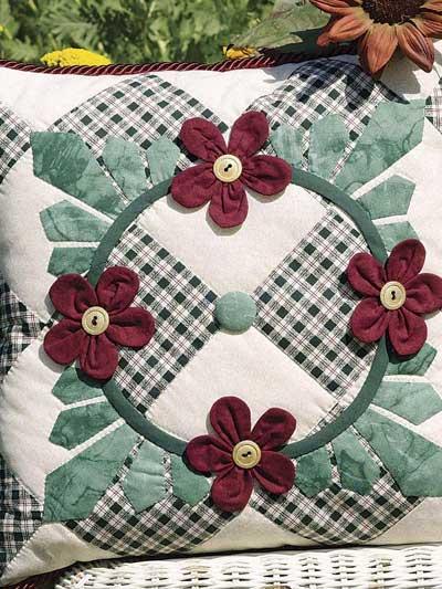 Petals & Leaves Pillow photo
