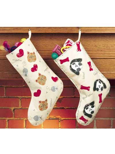 Christmas Pet Stockings photo