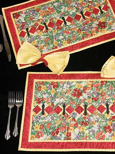 Seminole Butterflies Place Mats & Napkins photo
