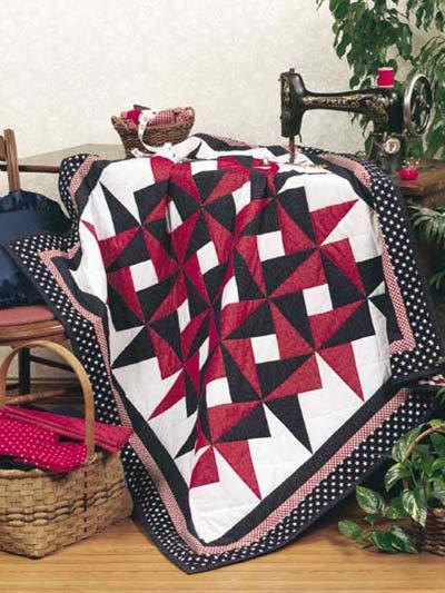 Interlocking Pinwheels photo