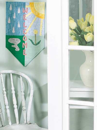 Spring Door Banner photo