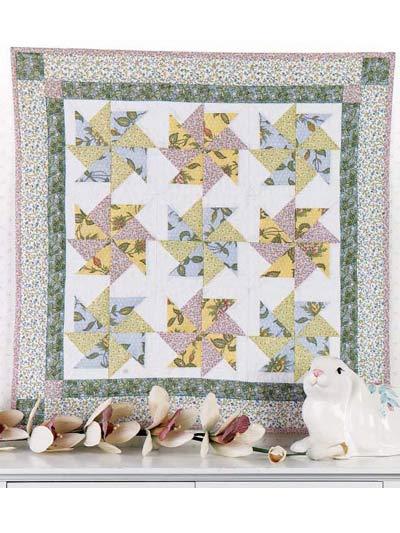 Spring Pinwheels Quilt photo