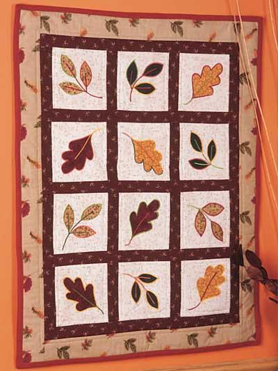 Northwest Autumn Wall Quilt photo