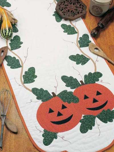 Pumpkin Table Runner photo