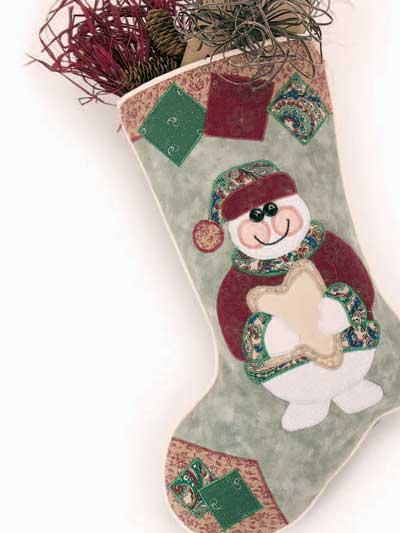 Snowman Stocking photo