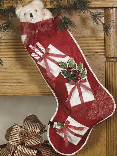 Christmas Keepsake Stocking photo