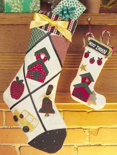 Teacher's Christmas Stockings photo