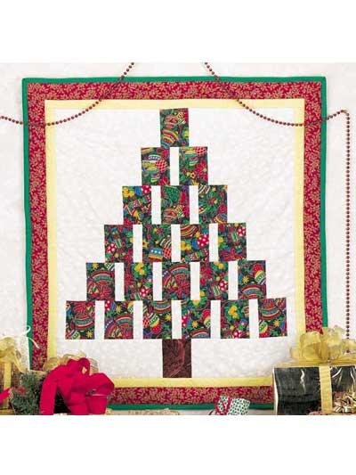 Pieced Christmas Tree photo