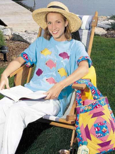 Fish T-Shirt and Tote Bag photo