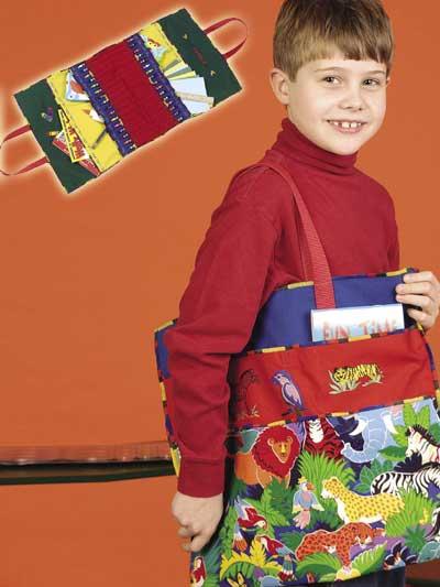 Jungle Crayon Bag photo